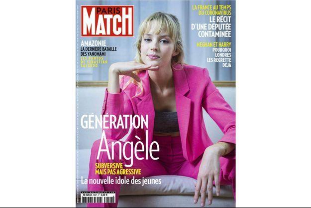 La couverture du numéro 3697 de Paris Match