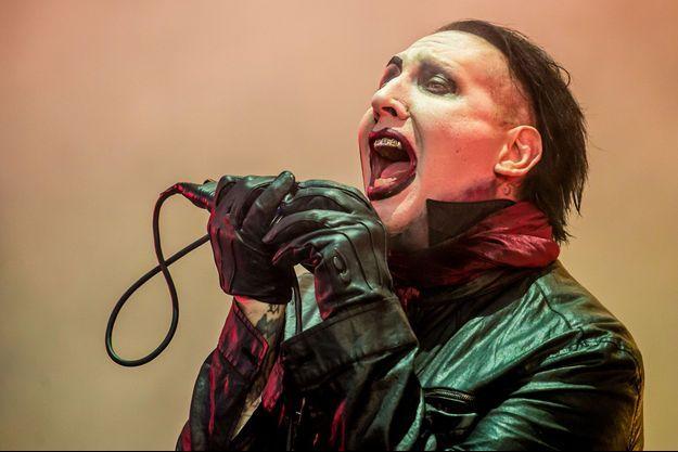 Le concert de Marilyn Manson au Zénith de Paris lundi a été annulé.