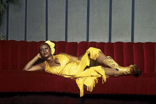 Au temps de sa splendeur, dans les années 1970. Aretha Franklin est morte le 16 août à Détroit, où elle vivait.