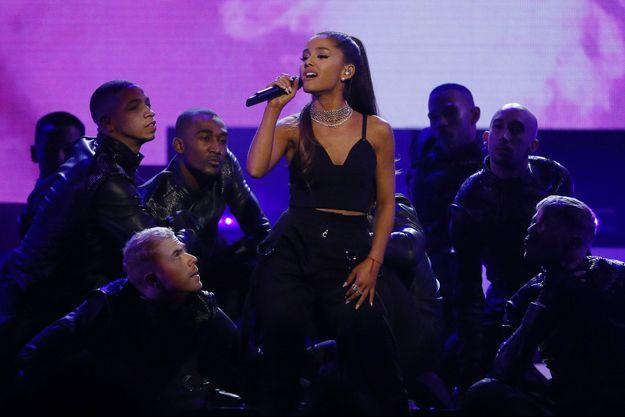 Ariana Grande lors des Billboard Awards à Las Vegas, le 22 mai 2016.