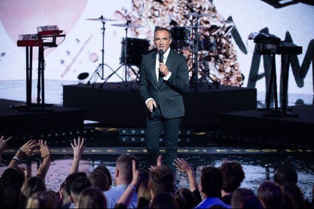 Nikos Aliagas lors des NRJ Music Awards 2018.