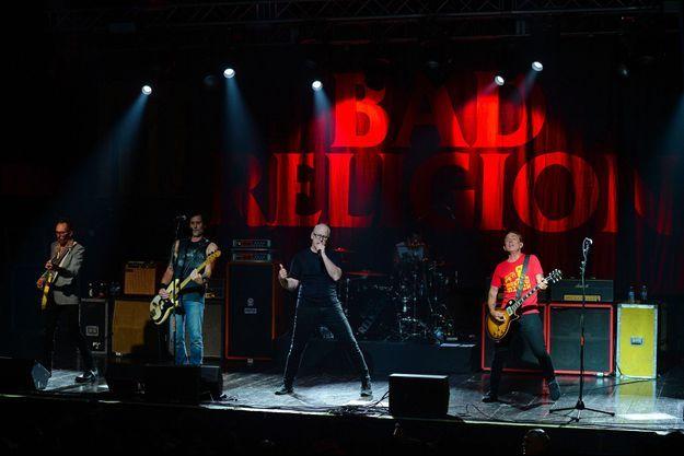 Bad Religion en concert en Floride en septembre 2019
