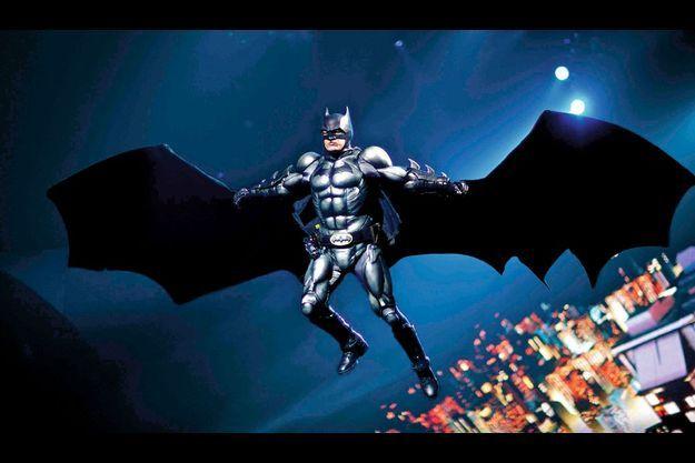 Batman sur la scène de Bercy.