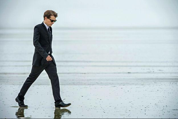 A marée basse, sur une plage de Penmarc'h, au bout du pays bigouden.