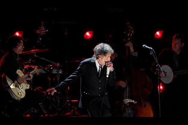 Bob Dylan, à Los Angeles, le 1er janvier 2012.