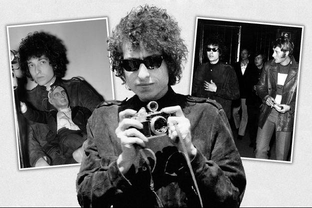 Bob Dylan en France en 1966