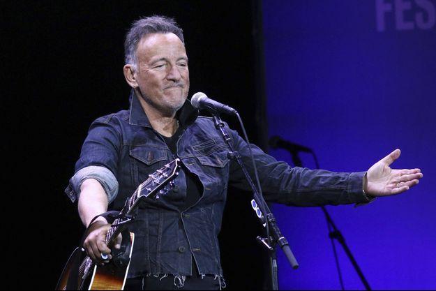 Bruce Springsteen en concert à New York en novembre 2019.