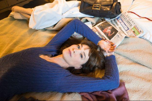 Dans sa chambre d'hôtel, au lendemain de son concert à Saint-Raphaël.