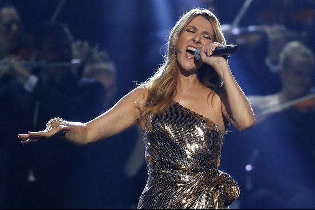 Céline Dion au Billboard Icon Award à Las Vegas en mai 2016.