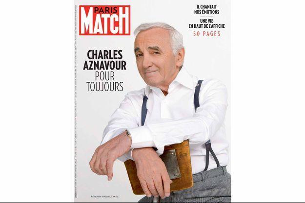 La couverture du numéro 3622 de Paris Match