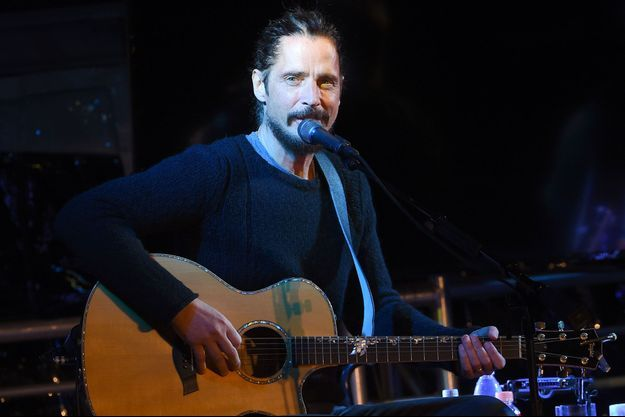 Chris Cornell en janvier dernier lors d'un concert avec Sting, à Malibu, en Californie.