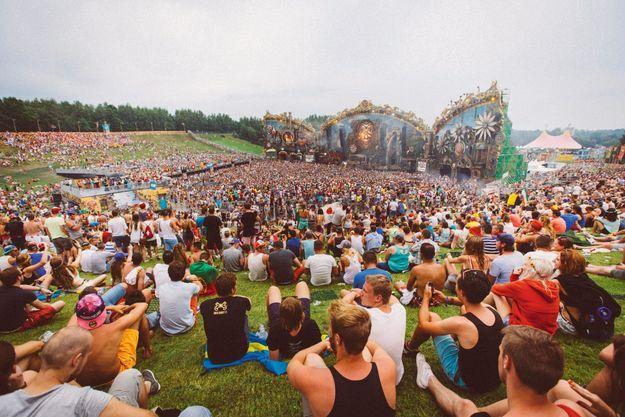Le festival Tomorrowland à Boom, en Belgique.
