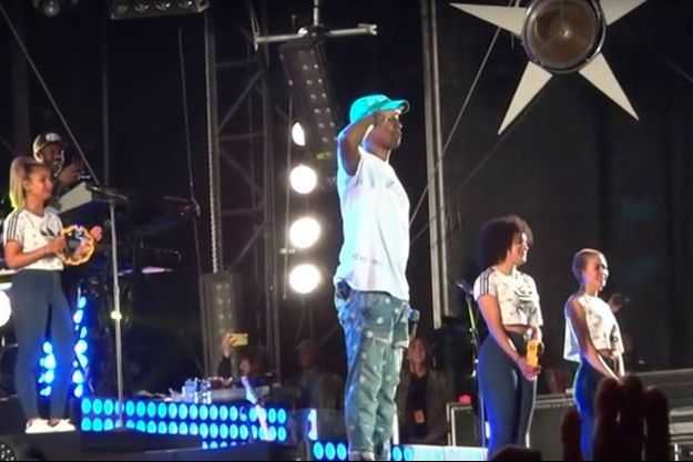 Pharell Williams a chanté la Marseillaise à Biarritz