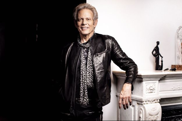 Don Felder à Paris, le 12 avril 2019.