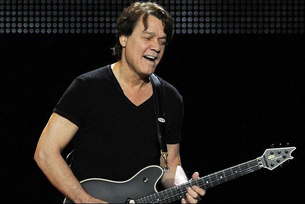 Eddie Van Halen en 2012.