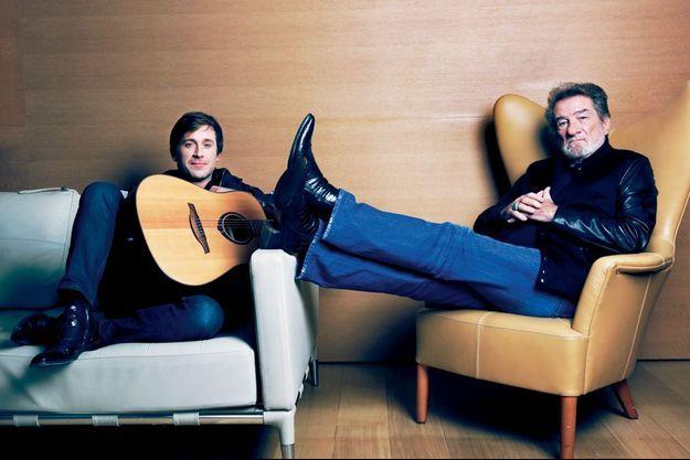 Thomas Dutronc et Eddy Mitchell