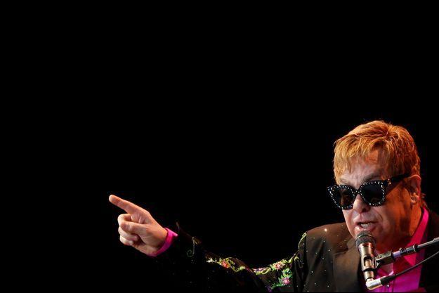 Elton John en juillet 2017