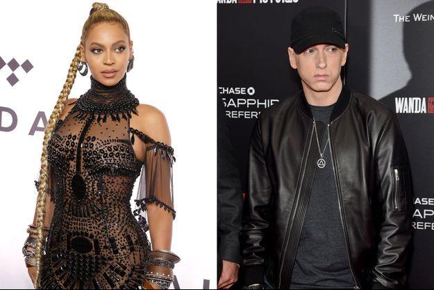 """Beyonce ett Eminem en duo dans """"Walk on Water"""""""