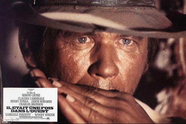 """Charles Bronson dans """"Il était une fois dans l'Ouest""""."""