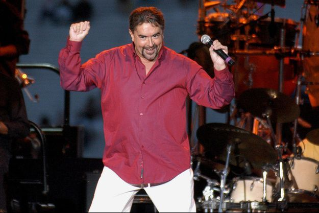 Eric Morera sur scène en 2003.