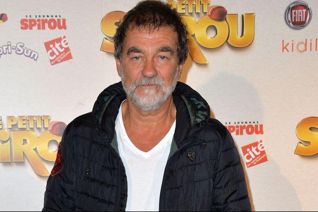 Olivier Marchal le 10 septembre 2017, à Paris.
