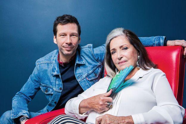 Françoise Fabian et Alex Beaupain