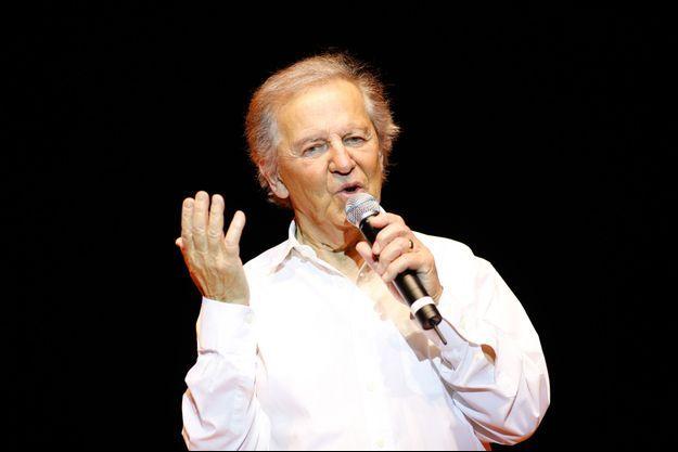 Fred Mella lors de sa tournée à Cosne-sur-Loire, en octobre 2008.
