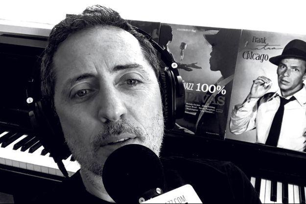 "Gad Elmaleh au micro de ""TSF Jazz"""