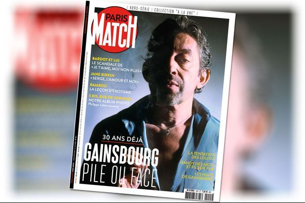 Gainsbourg hors série archives Paris Match