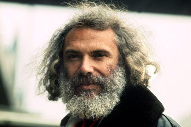Georges Moustaki en février 1975.