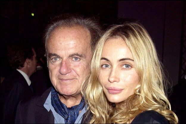 Emmanuelle Beart et Guy Beart en 2003.