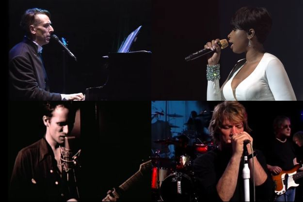 John Cale, Jennifer Hudson, Jeff Buckley et Bon Jovi.