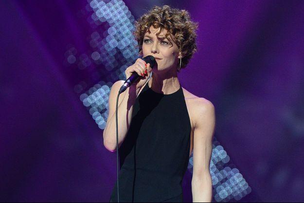 Vanessa Paradis aux dernières Victoires de la Musique.
