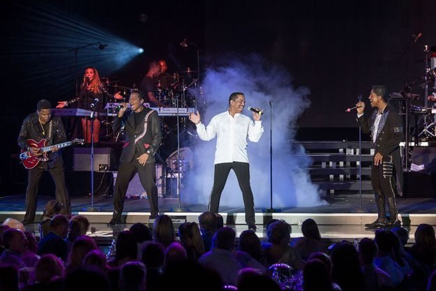 The Jacksons à Monaco.