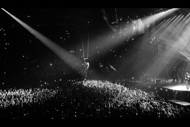 Beyoncé mercredi soir à Bercy.