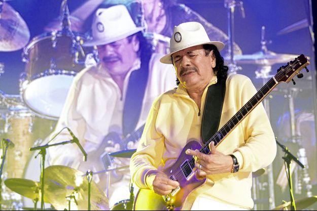 Carlos Santana mardi à Paris.