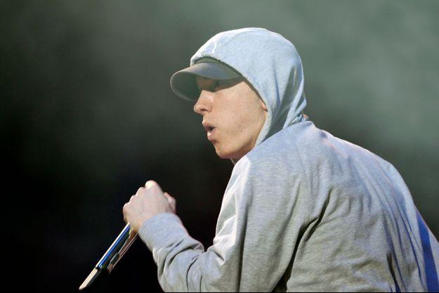 Eminem à Abu Dhabi en novembre dernier.