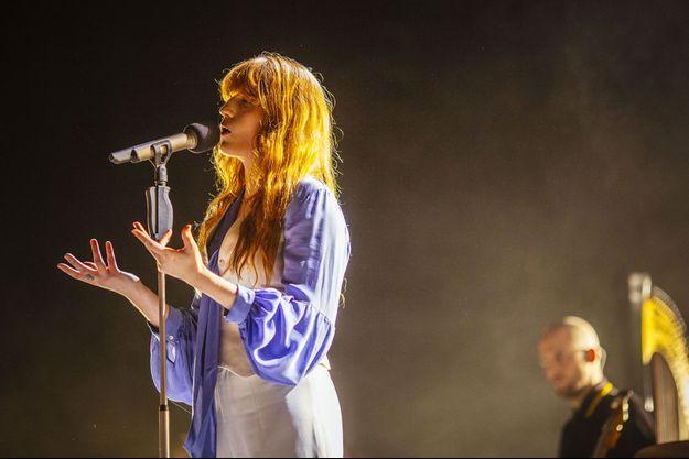 Florence + the Machine était au Zénith mardi soir