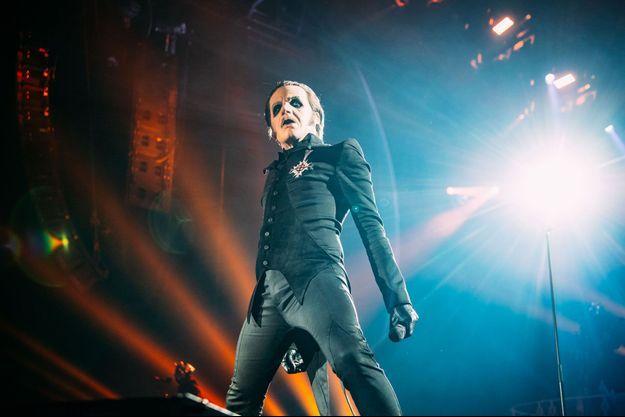 Ghost a donné un concert jeudi soir au Zénith.