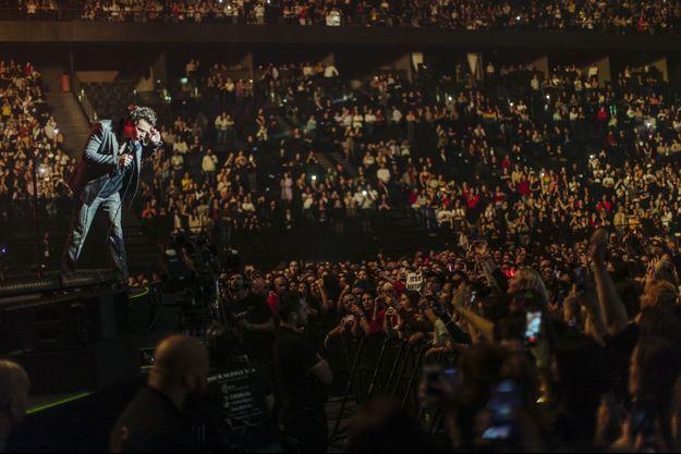 Harry Styles sur scène mardi soir.