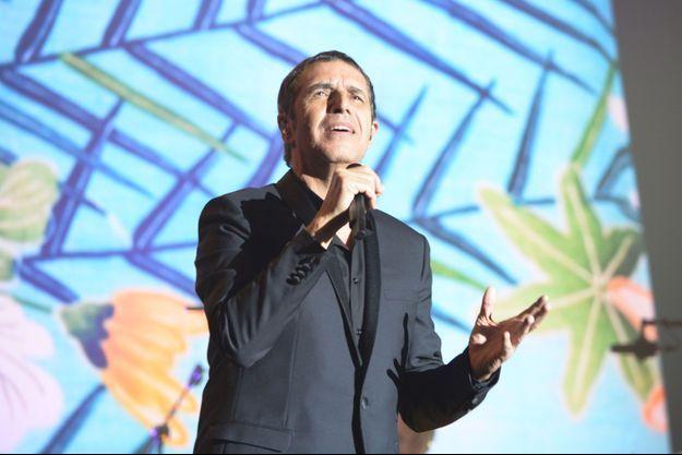 Julien Clerc en concert à Paris mardi soir.