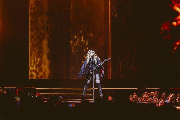 Madonna a donné un concert exceptionnel mercredi à Paris