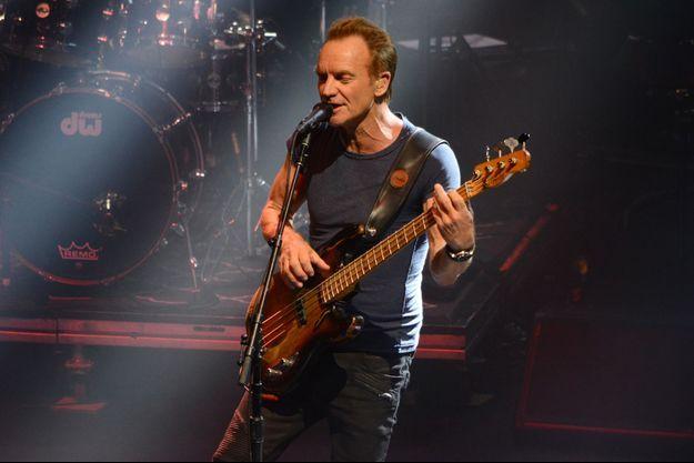 Sting a s'est produit mercredi soir sur la scène de l'Olympia