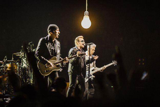 U2 était à Paris mardi soir