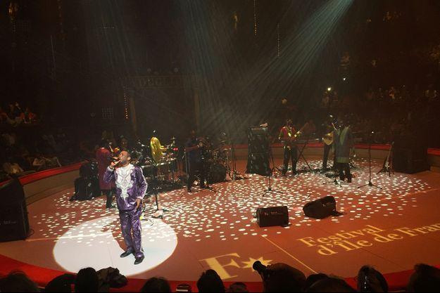 Youssou N'Dour a donné un concert dimanche soir