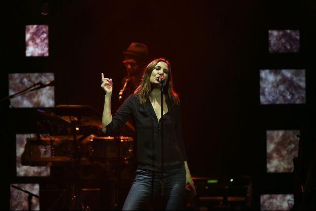Zazie en concert aux Folies Bergère jusqu'au 1er avril 2016.