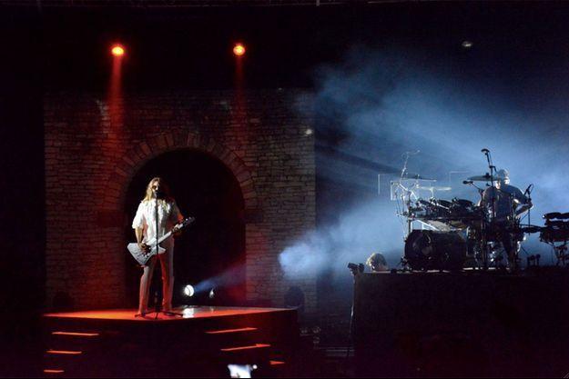Jared Leto et son groupe était en Corse vendredi soir.