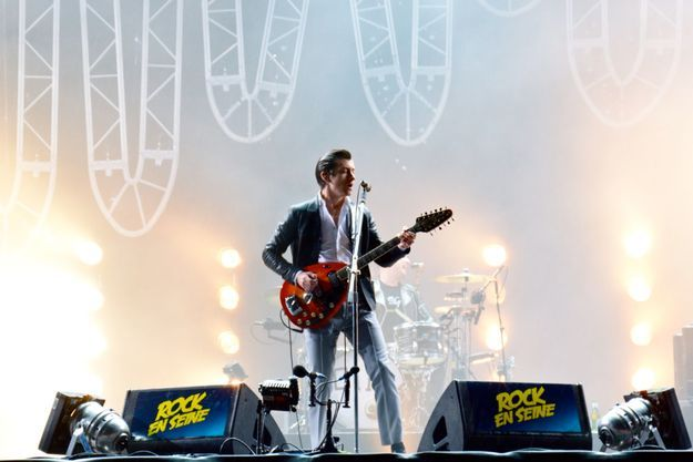 Alex Turner du groupe Arctic Monkeys