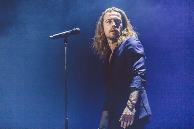 Julien Doré en concert à Rouen.