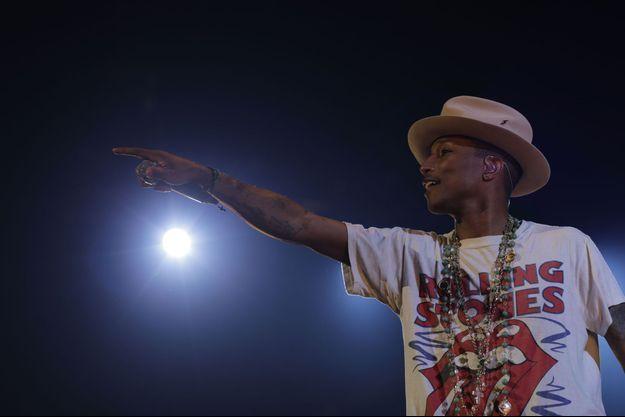 Pharrell Williams était à Toulouse pour lancer sa tournée en France.